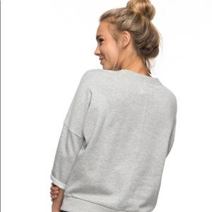 Roxy Screw Neck Pull-Over Sweater